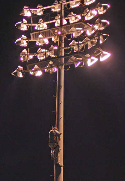 Dodd Stadium Lighting Photo
